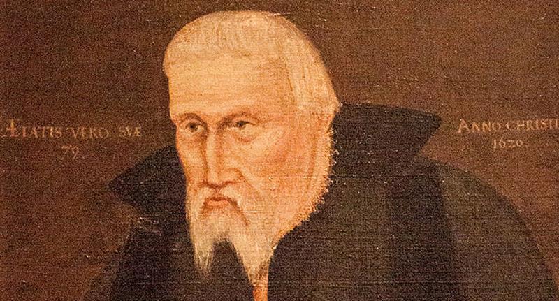 Guðbrandur Þorláksson biskup á Hólum.