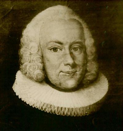 Séra Ludvig Harboe tók við sem staðarhaldari á Hólum eftir lát Steins biskups