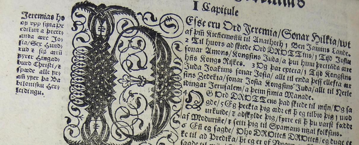 Þorláksbiblía 1644.